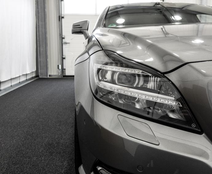 Diebstahlwarnanlage Vodafone Automotive Cobra Mercedes CLS