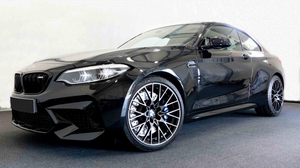BMW 2er M2 Competition Diebstahlschutz Kfz-Alarm Kfz-Alarmanlage nachrüsten Diebstahlsicherung Autoalarmanlage Vodafone Automotive Pandora Ampire Viper nachrüsten